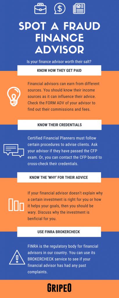 How To Spot A Fraud Finance Advisor (Infographic) Like Paramveer Singh