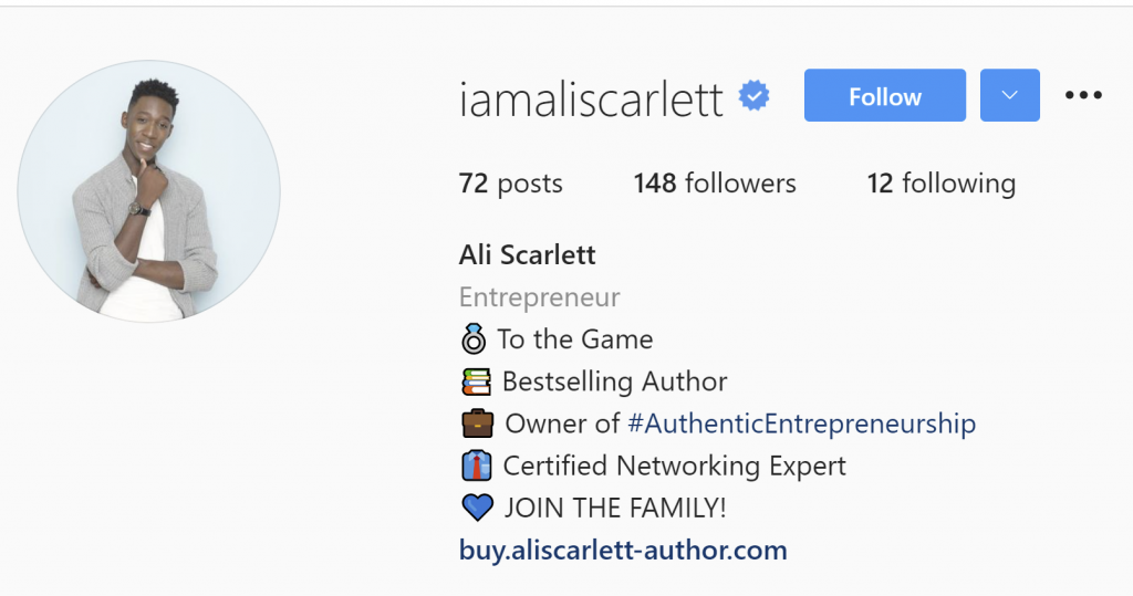 @iamaliscarlett Instagram